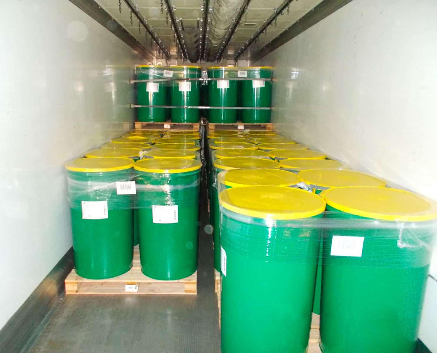 contenedores y embalajes limon concentrado