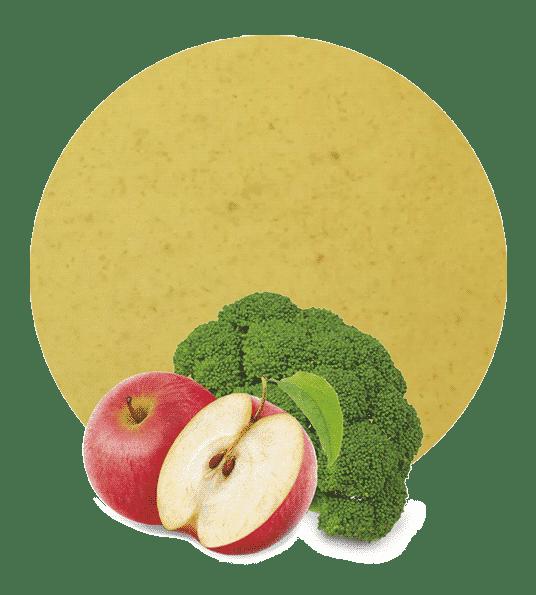 Compota de Brócoli y Manzana