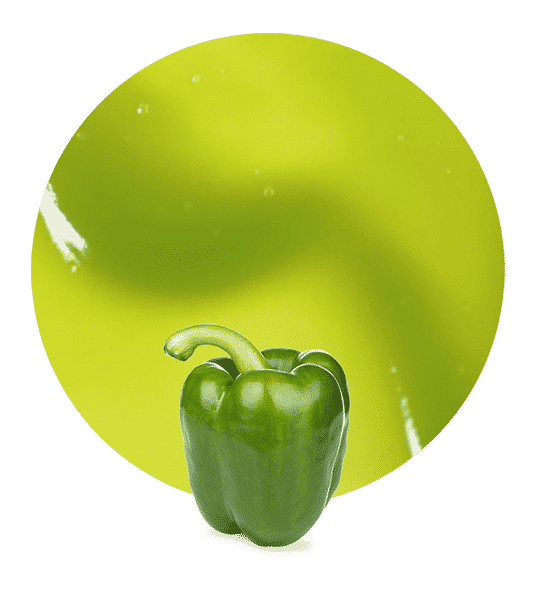 Puré de Pimiento verde