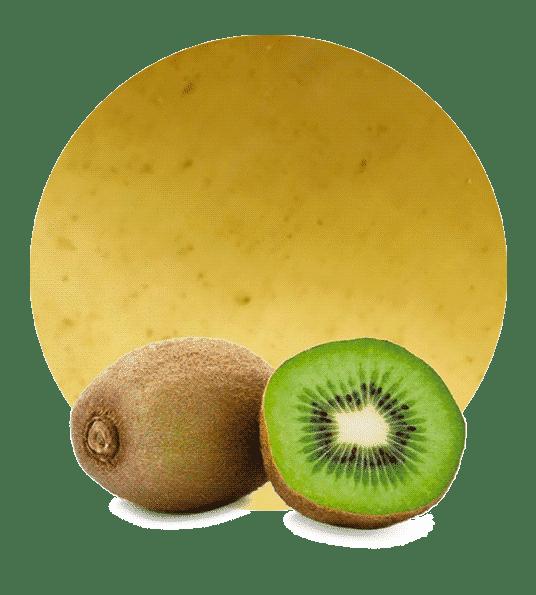 relleno de kiwi