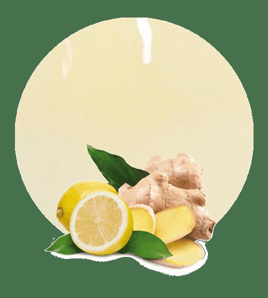 Zumo NFC de Limón y Jengibre