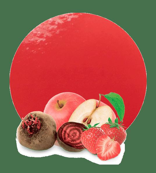 Concentrado de Manzana, Remolacha y Fresas