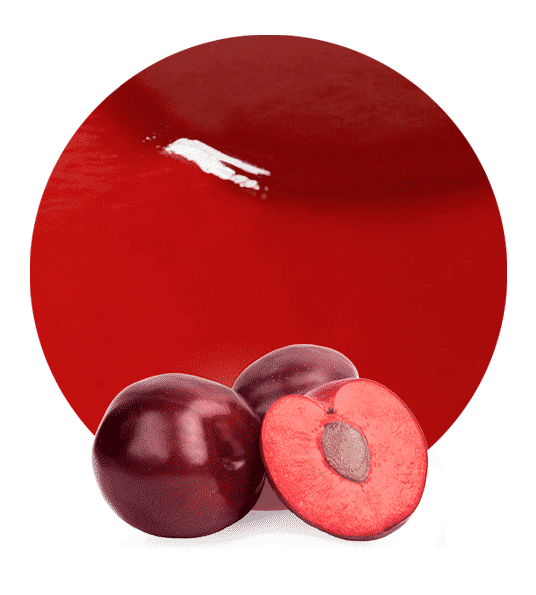 red plum puree